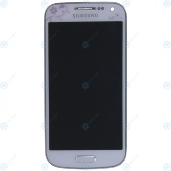 Samsung Galaxy S4 Mini (GT-I9195) Display unit complete white la fleur GH97-15541B_image-5
