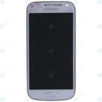 Samsung Galaxy S4 Mini Gt I9195 Display Unit Complete White La
