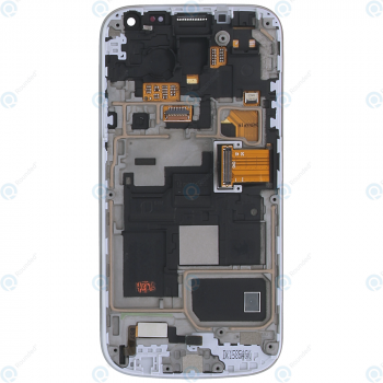 Samsung Galaxy S4 Mini (GT-I9195) Display unit complete white la fleur GH97-15541B_image-6