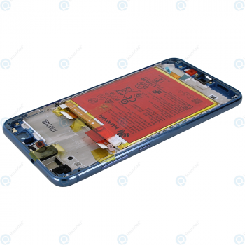 Huawei P10 Lite (WAS-L21) Display module frontcover+lcd+digitizer+battery blue 02351FSL_image-4