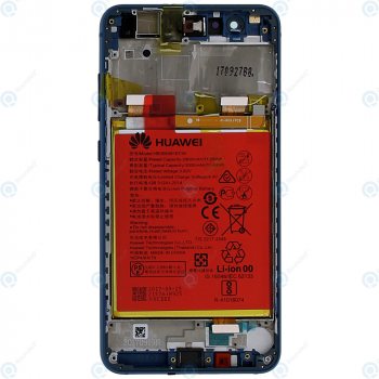 Huawei P10 Lite (WAS-L21) Display module frontcover+lcd+digitizer+battery blue 02351FSL_image-6