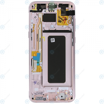 Samsung Galaxy S8 Plus (SM-G955F) Display unit complete pink GH97-20470E_image-2