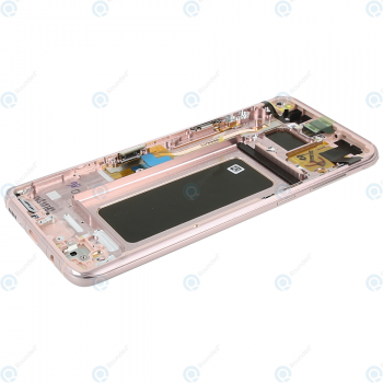 Samsung Galaxy S8 Plus (SM-G955F) Display unit complete pink GH97-20470E_image-5
