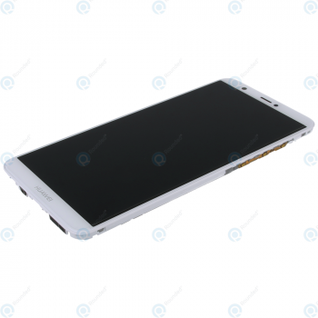 Huawei P smart (FIG-L31) Display module frontcover+lcd+digitizer+battery white 02351SVL 02351SVE_image-1