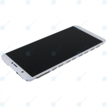 Huawei P smart (FIG-L31) Display module frontcover+lcd+digitizer+battery white 02351SVL 02351SVE_image-2