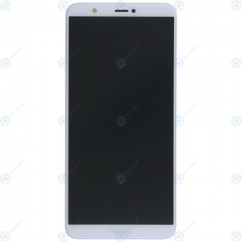 Huawei P smart (FIG-L31) Display module frontcover+lcd+digitizer+battery white 02351SVL 02351SVE_image-5