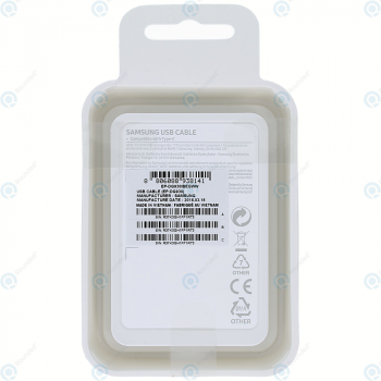 Samsung Data cable type-C EP-DG930 1.5 meter black (EU Blister) EP-DG930IBEGWW_image-1