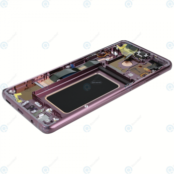 Samsung Galaxy S9 Plus (SM-G965F) Display unit complete lilac purple GH97-21691B_image-3