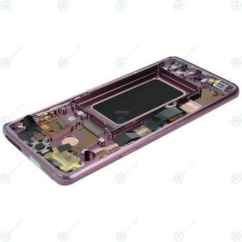 Samsung Galaxy S9 Plus (SM-G965F) Display unit complete lilac purple GH97-21691B_image-4