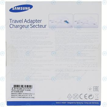 Samung Travel adapter 2000mnAh incl. USB data cable white (EU Blister) EP-TA12EWEUGWW_image-1