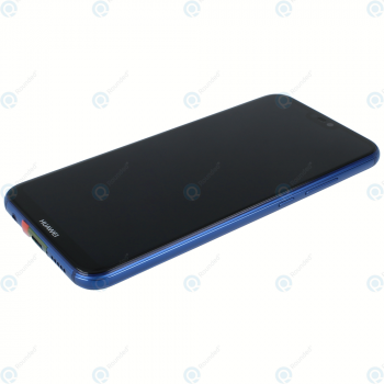 Huawei P20 Lite (ANE-L21) Display module frontcover+lcd+digitizer+battery klein blue 02351VUV_image-1