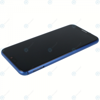 Huawei P20 Lite (ANE-L21) Display module frontcover+lcd+digitizer+battery klein blue 02351VUV_image-2
