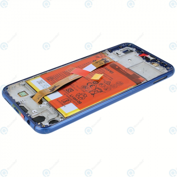 Huawei P20 Lite (ANE-L21) Display module frontcover+lcd+digitizer+battery klein blue 02351VUV_image-3
