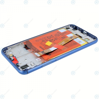 Huawei P20 Lite (ANE-L21) Display module frontcover+lcd+digitizer+battery klein blue 02351VUV_image-4