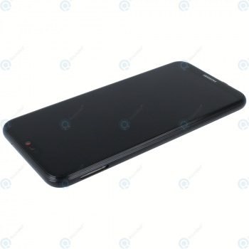 Huawei P20 Lite (ANE-L21) Display module frontcover+lcd+digitizer+battery midnight black 02351VPR_image-2