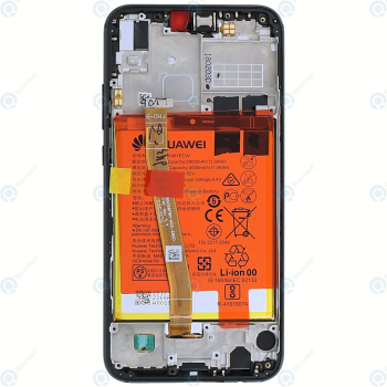Huawei P20 Lite (ANE-L21) Display module frontcover+lcd+digitizer+battery midnight black 02351VPR_image-6