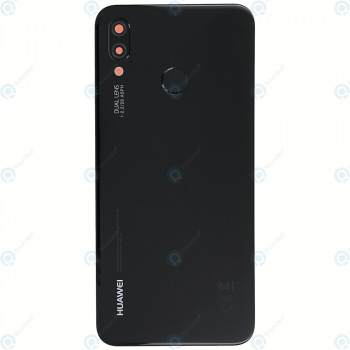 Huawei P20 Lite (ANE-L21) Battery cover midnight black 02351VPT
