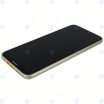 Huawei P20 Lite (ANE-L21) Display module frontcover+lcd+digitizer+battery gold 02351WRN_image-1