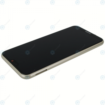 Huawei P20 Lite (ANE-L21) Display module frontcover+lcd+digitizer+battery gold 02351WRN_image-2