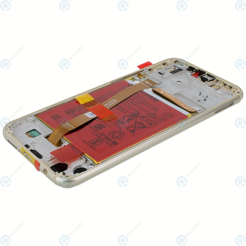Huawei P20 Lite (ANE-L21) Display module frontcover+lcd+digitizer+battery gold 02351WRN_image-3