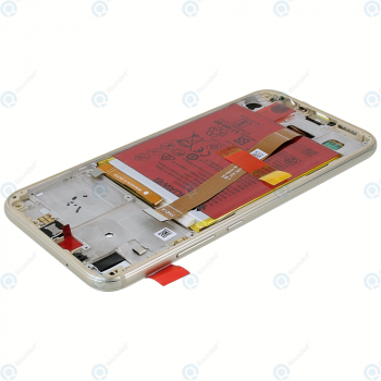 Huawei P20 Lite (ANE-L21) Display module frontcover+lcd+digitizer+battery gold 02351WRN_image-4