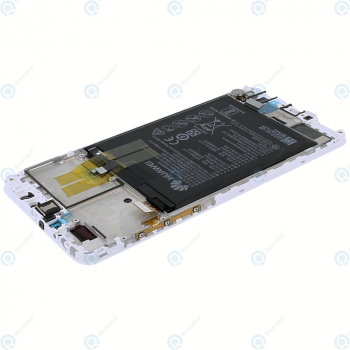 Huawei Y9 2018 Display module LCD + Digitizer white 02351VFU_image-4