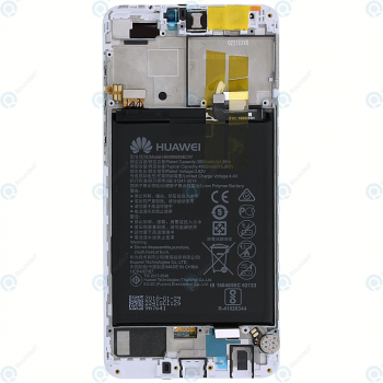 Huawei Y9 2018 Display module LCD + Digitizer white 02351VFU_image-6