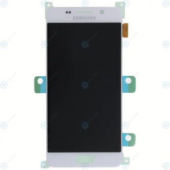 Samsung Galaxy A3 2016 (SM-A310F) Display module LCD + Digitizer white GH97-18249A_image-5