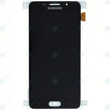Samsung Galaxy A5 2016 (SM-A510F) Display module LCD + Digitizer black GH97-18250B_image-5