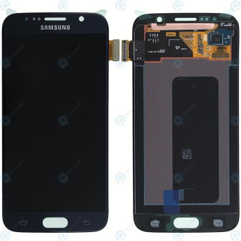 Samsung Galaxy S6 (SM-G920F) Display module LCD + Digitizer black GH97-17260A_image-3