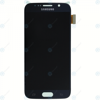 Samsung Galaxy S6 (SM-G920F) Display module LCD + Digitizer black GH97-17260A_image-4