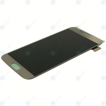 Samsung Galaxy S6 (SM-G920F) Display module LCD + Digitizer gold GH97-17260C_image-4