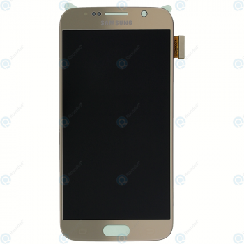 Samsung Galaxy S6 (SM-G920F) Display module LCD + Digitizer gold GH97-17260C_image-6