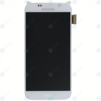 Samsung Galaxy S6 (SM-G920F) Display module LCD + Digitizer white GH97-17260B_image-3