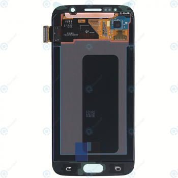 Samsung Galaxy S6 (SM-G920F) Display module LCD + Digitizer white GH97-17260B_image-4