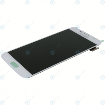 Samsung Galaxy S6 (SM-G920F) Display module LCD + Digitizer white GH97-17260B_image-6