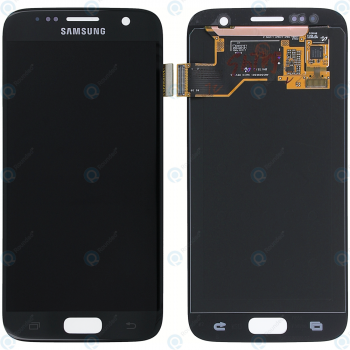 Samsung Galaxy S7 (SM-G930F) Display module LCD + Digitizer black GH97-18523A_image-2