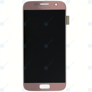 Samsung Galaxy S7 (SM-G930F) Display module LCD + Digitizer pink GH97-18523E_image-3