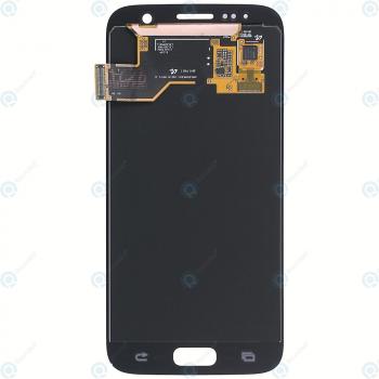 Samsung Galaxy S7 (SM-G930F) Display module LCD + Digitizer pink GH97-18523E_image-4