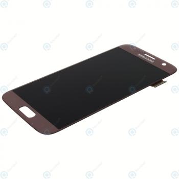Samsung Galaxy S7 (SM-G930F) Display module LCD + Digitizer pink GH97-18523E_image-6
