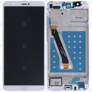 Huawei P smart (FIG-L31) Display module frontcover+lcd+digitizer white