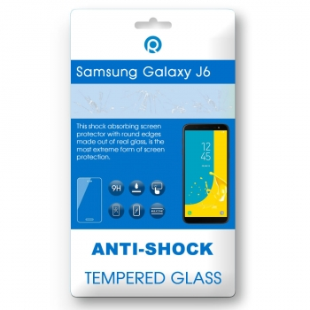 Samsung Galaxy J6 (SM-J600F) Tempered glass 3D black