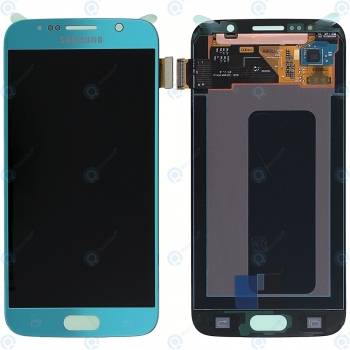 Samsung Galaxy S6 (SM-G920F) Display module LCD + Digitizer blue GH97-17260D_image-2