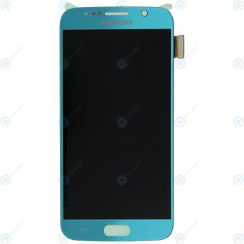 Samsung Galaxy S6 (SM-G920F) Display module LCD + Digitizer blue GH97-17260D_image-5