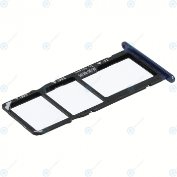Huawei Honor 7A, Y6 2018 (ATU-L21, ATU-L22) Sim tray + MicroSD tray blue_image-1