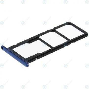 Huawei Honor 7A, Y6 2018 (ATU-L21, ATU-L22) Sim tray + MicroSD tray blue_image-2