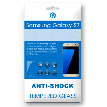 Samsung Galaxy S7 (SM-G930F) Tempered glass 3D gold