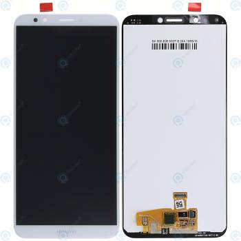 Huawei Y7 2018 Display module LCD + Digitizer white