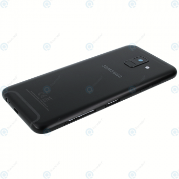 Samsung Galaxy A6 2018 (SM-A600FN) Battery cover black GH82-16421A_image-2