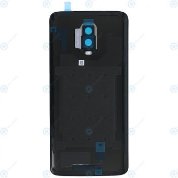 OnePlus 6T (A6010 A6013) Battery cover mirror black 2011100043_image-1
